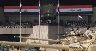 """القيادة العامة للقوات المسلحة العراقية تقيم استعراض """"النصر الكبير"""" احتفاءً بانتصارات الموصل"""