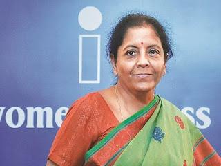 Press conference  Minister Nirmala Sitharaman 13/5/20