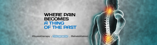 Neck and back pain shown