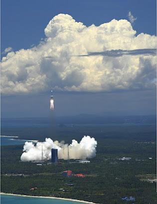 Tianwen-1 Space launch