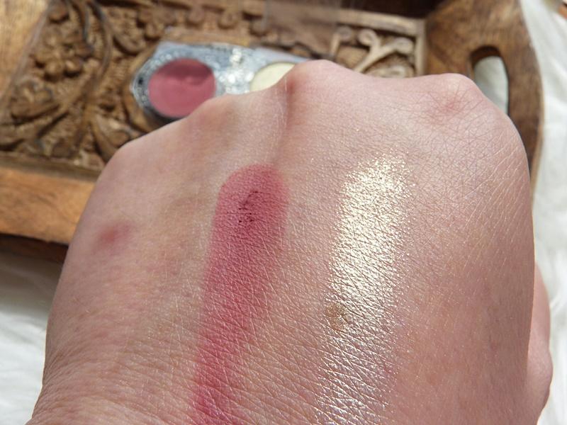 Glamshop GlamSHADOWS - cienie do powiek Marsala i prasowany pigment Serafin