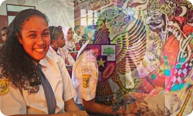Puluhan Siswa SMA-SMK Mimika Ikuti Lawatan Sejarah Daerah ke 16