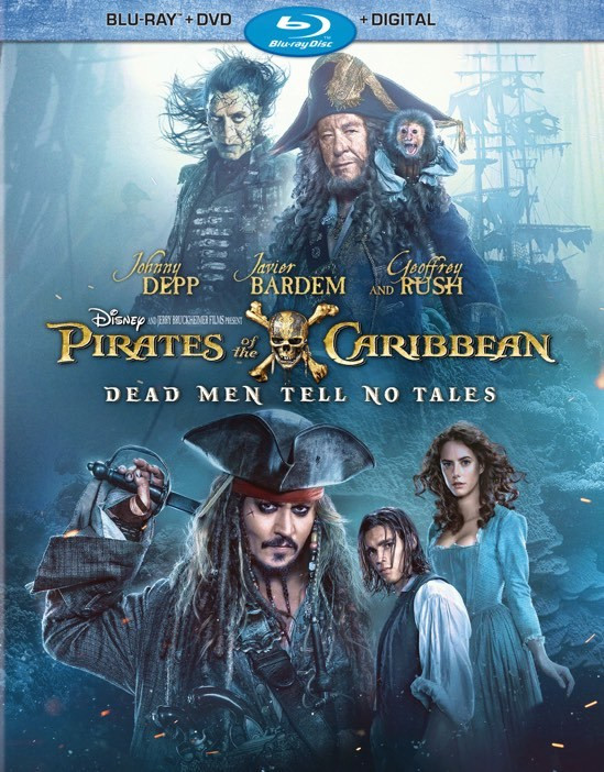 Pirates of the Caribbean: Dead Men Tell No Tales 2017 480p Bluray Dual Audion Hindi x264 AAc 470MB
