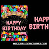 Balon Foil Huruf HAPPY BIRTHDAY Matte Pink