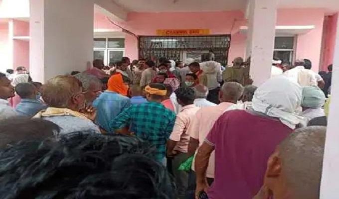 गाजीपुर: कोरोना वैक्सीन पहुंचते ही टीकाकरण की बढ़ी रफ्तार, केंद्रों पर उमड़ी भीड़