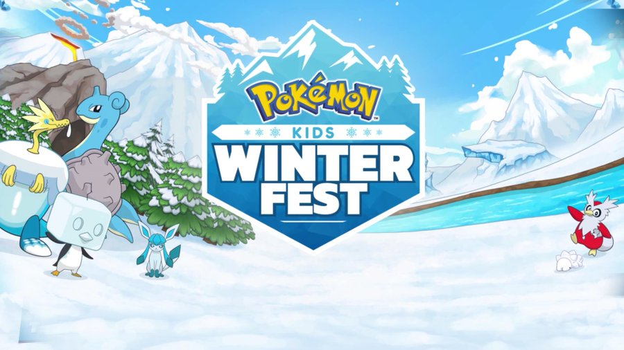 Join the fun this festive season with the Pokémon: Kids Winter Fest