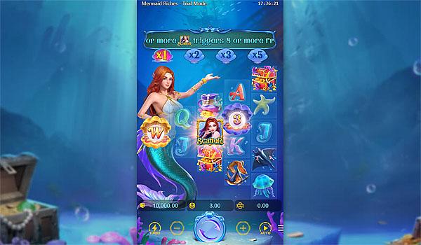 Main Gratis Slot Indonesia - Mermaid Riches PG Soft