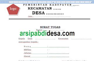 Download Kumpulan Contoh Format Spj Tpk Lengkap Abdi Desa