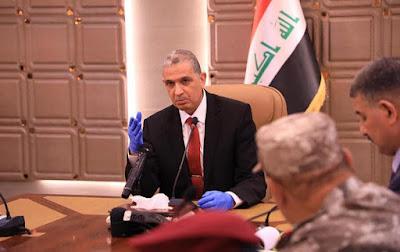 وزير الداخلية عثمان الغانمي يعتبر المتوفين من منتسبي الداخلية بسبب كورونا شهداء