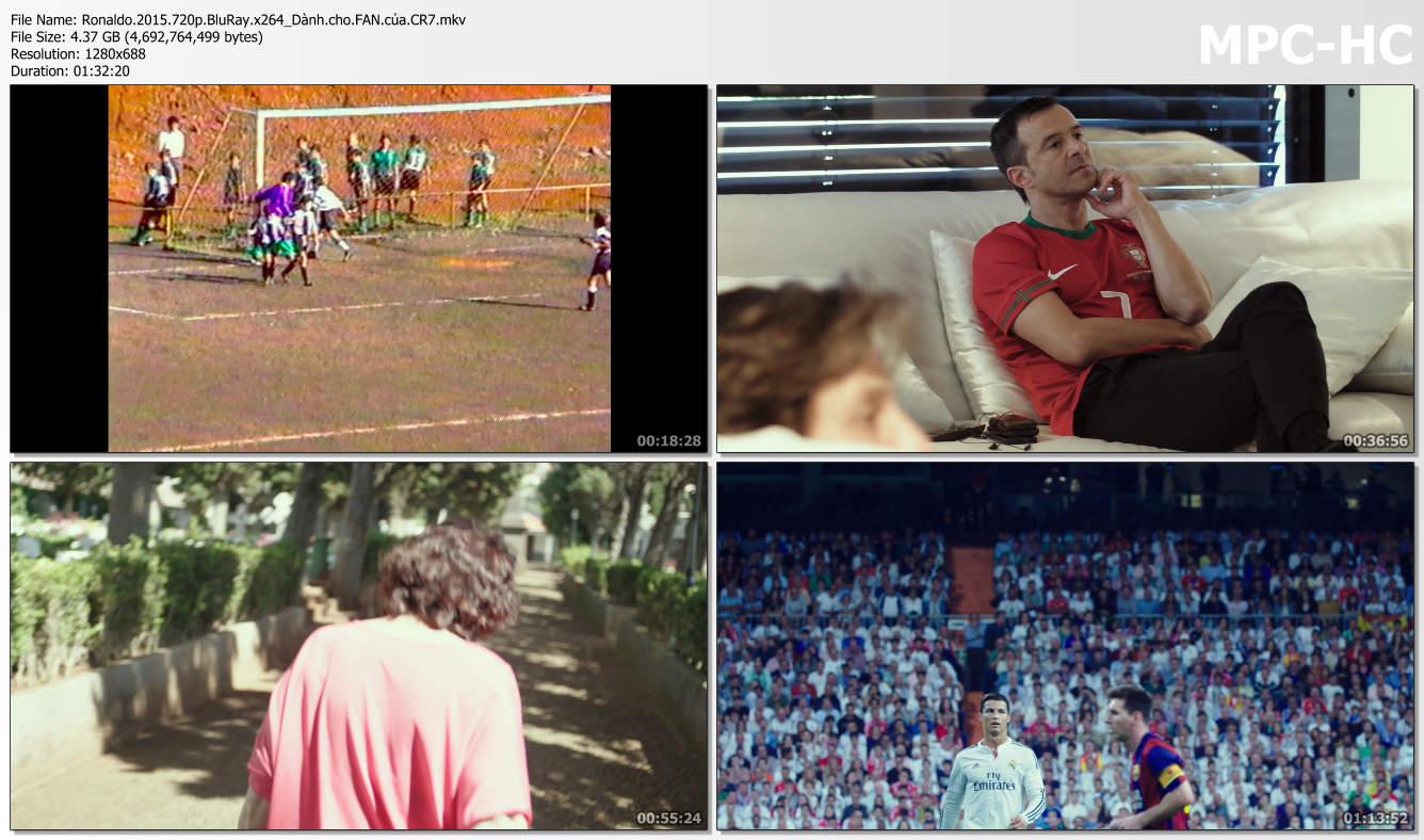 Phim tài liệu nói về cuộc đời và sự nghiệp của Cristiano Ronaldo - CR7 .