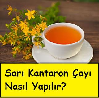 Sarı Kantaron Çayı Nasıl Yapılır