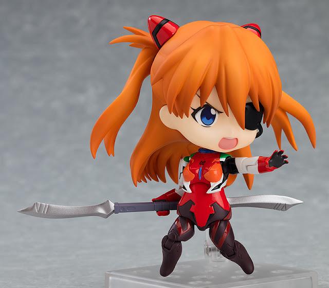 "Figuras: Nendoroid Asuka Langley: Plugsuit Ver. de ""Rebuild of Evangelion""  - Good Smile Company"