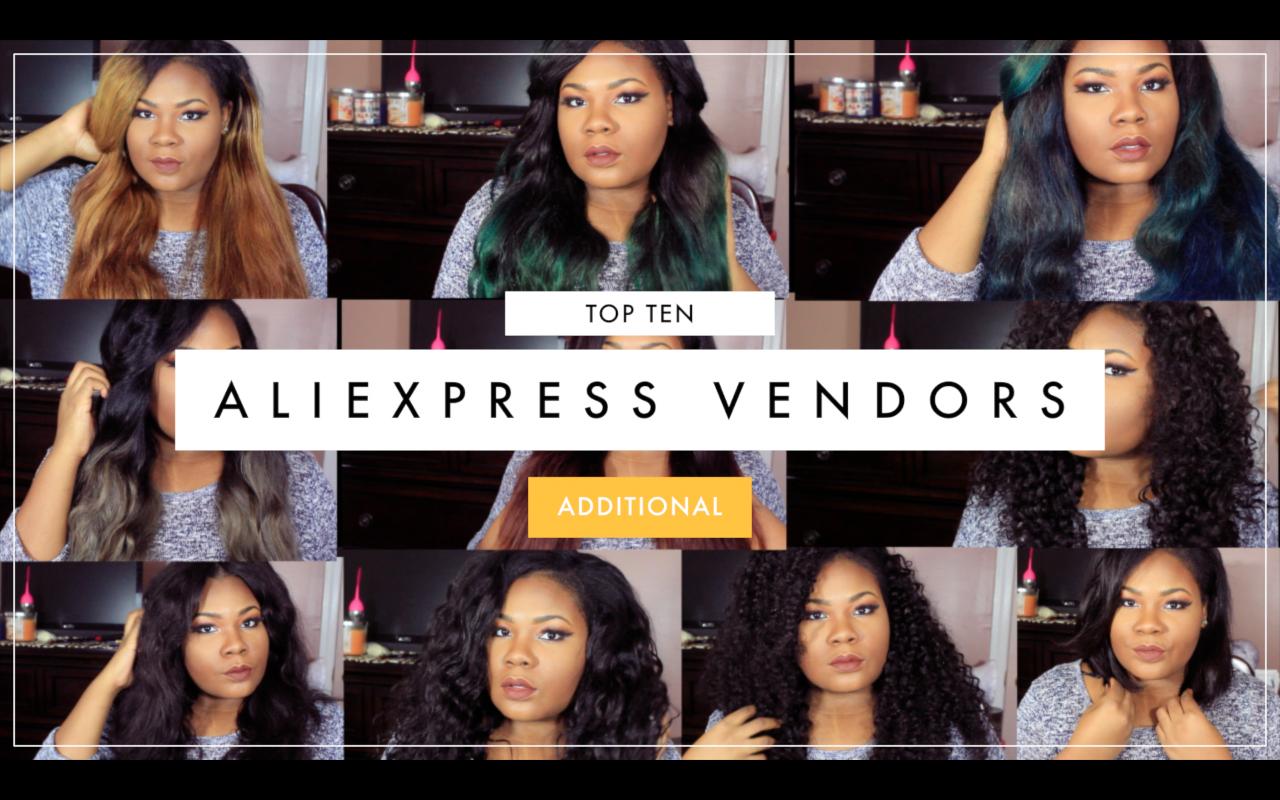 10 Aliexpress Hair Vendors!!!   MARY ELIZABETH