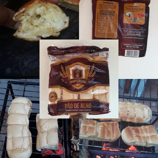 resenha Pão de alho
