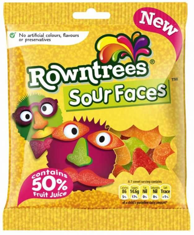 Sour faces
