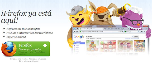 Descargar Firefox 7 Gratis