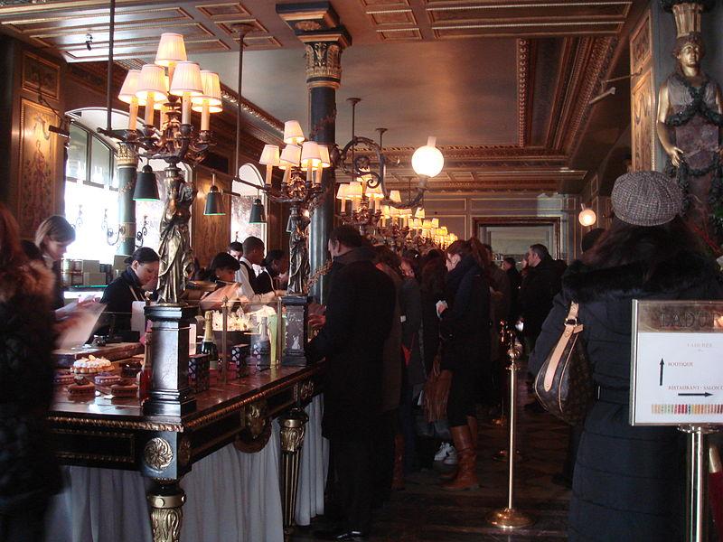 Cafe Madeleine Hot Chocolate Paris