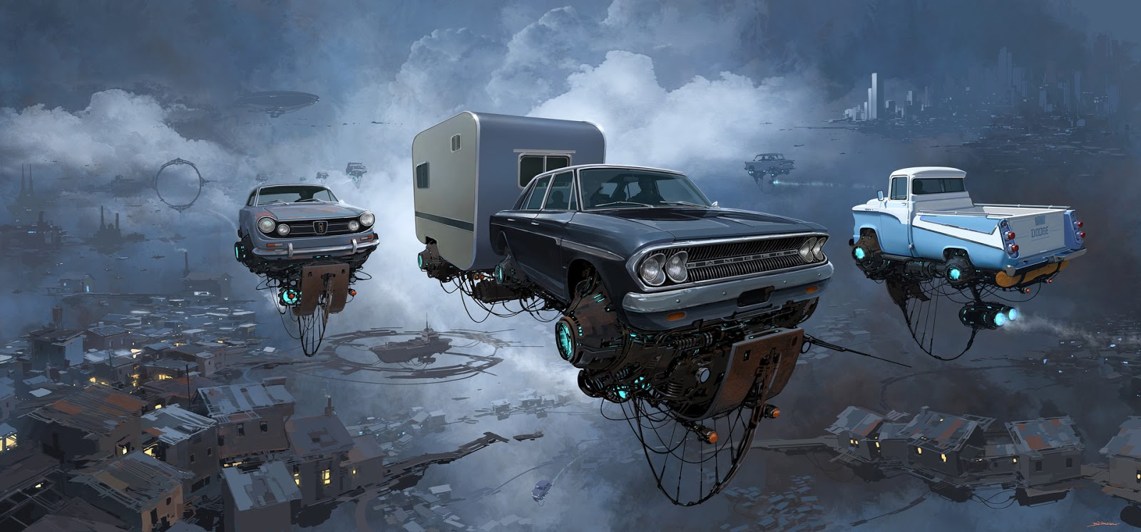 Images: This Is Our Future: A Collection Of Imaginative Sci-Fi Art From Alejandro Burdisio