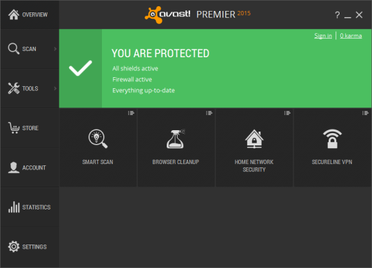 Avast Premier 2016 Full โปรแกรมสแกนไวรัสประสิทธิภาพสูง