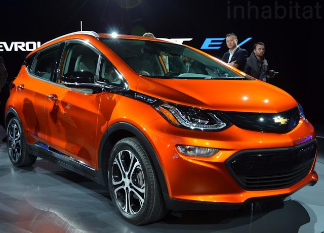 2017 Chevrolet Bolt Electric Car