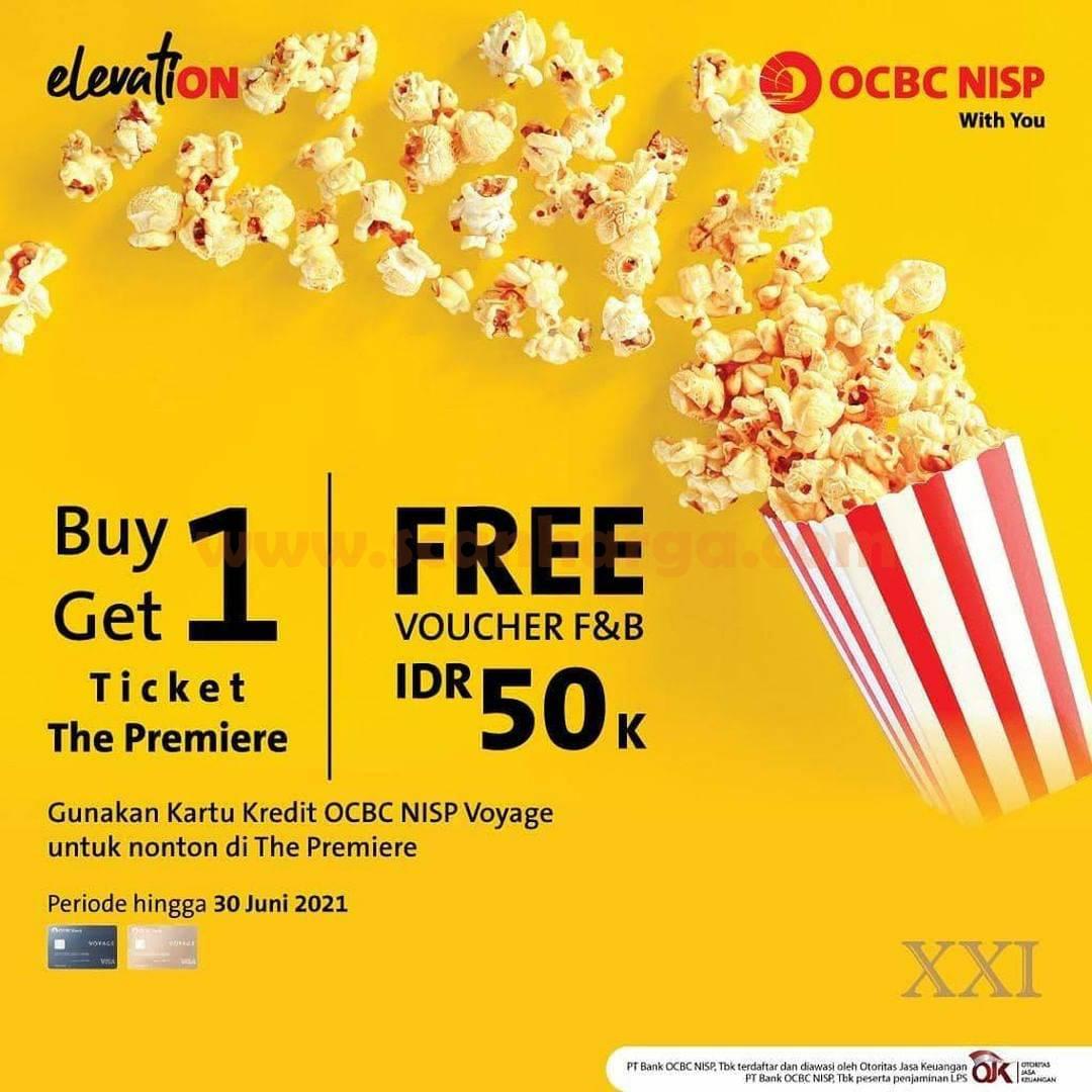 CINEMA XXI Promo BELI 1 GRATIS 1 dengan Kartu Kredit Voyage OCBC NISP