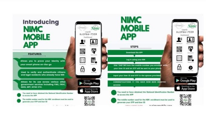 How To Get Your Original Nimc ID Card Online Via Nimc Mobile