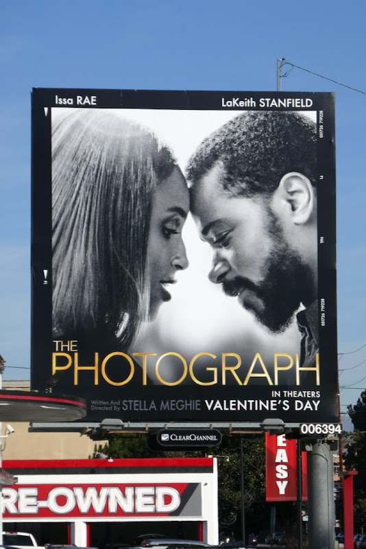 Photograph movie billboard