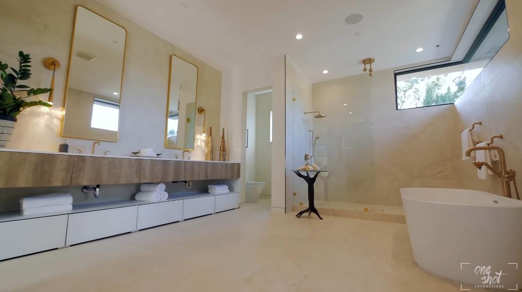 53 Interior Photos vs. 439 N Harper Ave, Los Angeles, CA Luxury Contemporary House Tour