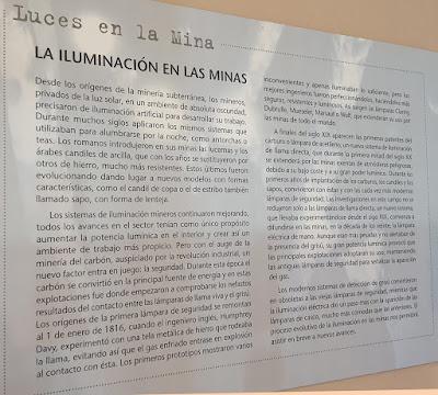 Museo de la Siderurgia y la Minería, Sabero, León. Luces en la mina