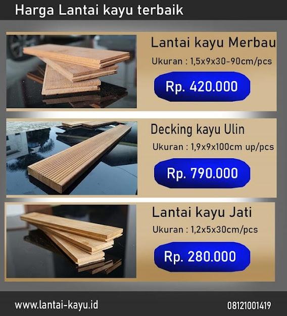 Daftar harga lantai kayu parket