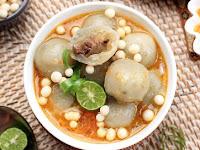 Resep Cilok Kuah Pedas, Makanan Hits di Instagram!