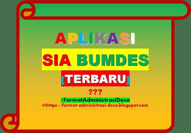 Download Aplikasi Sia Bumdes Bpkp Software Bumdes Gratis Format Administrasi Desa