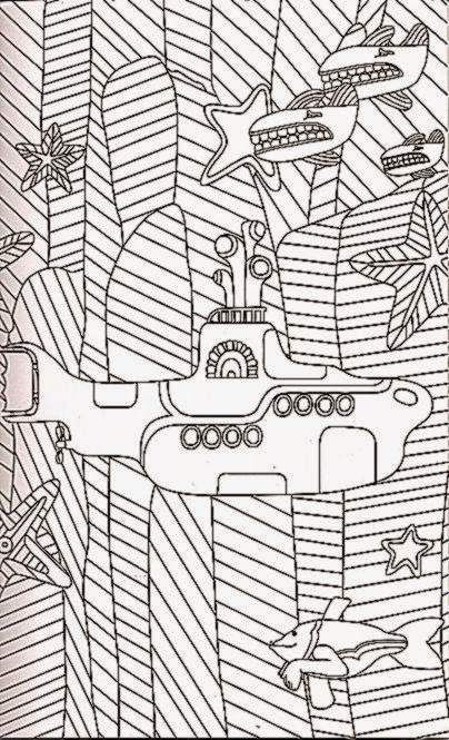 yellow submarine coloring pages - photo #31