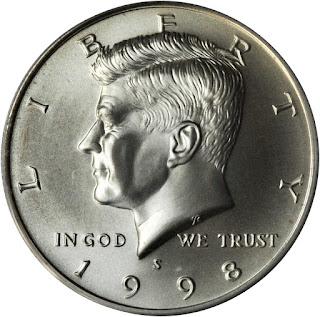1998 Kennedy Half Dollar