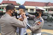 Kapolres Cilacap Pimpin Apel Gelar Pasukan Operasi Patuh Candi Tahun 2021