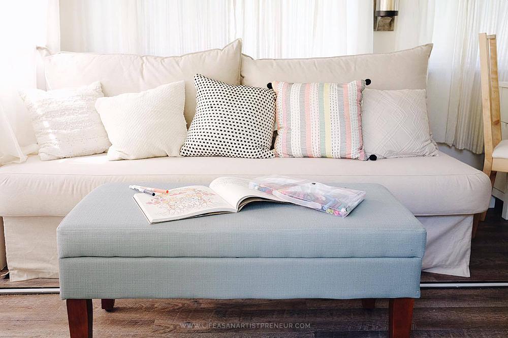 ikea sleeper sofa target storage ottoman