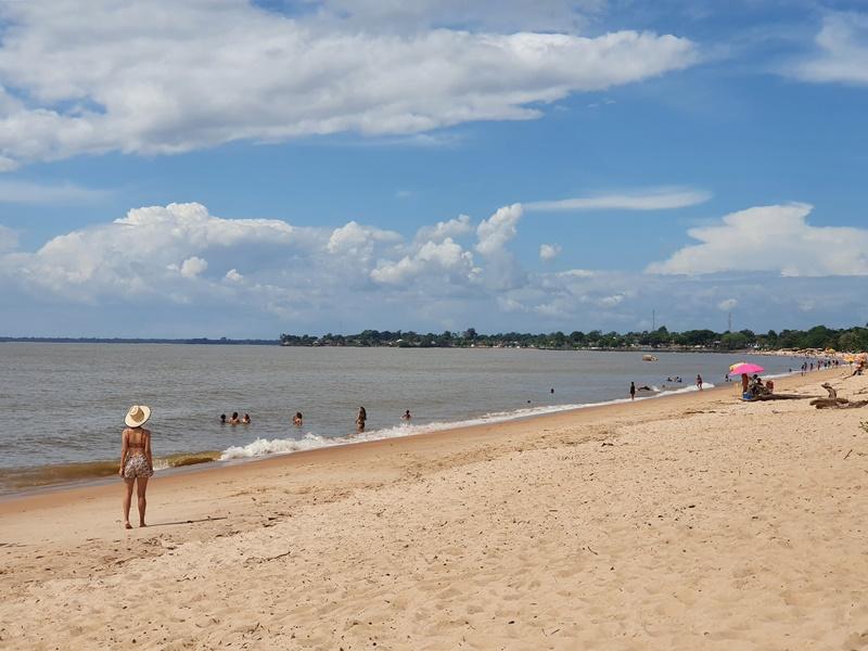 Praias em Belém