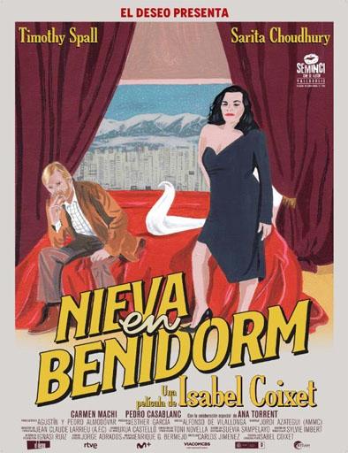 pelicula Nieva en Benidorm