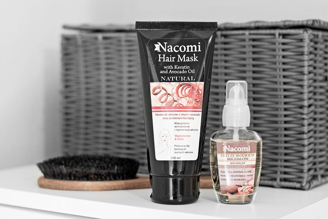2 nowe produkty do pielęgnacji włosów marki Nacomi
