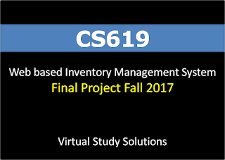 Web based Inventory Management System - CS619 Final Project Fall 2017