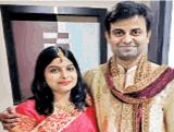 Couple Naina and Rajesh Jha BPSE