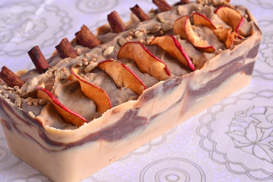 Jabon de manzana tutorial de elaboracion