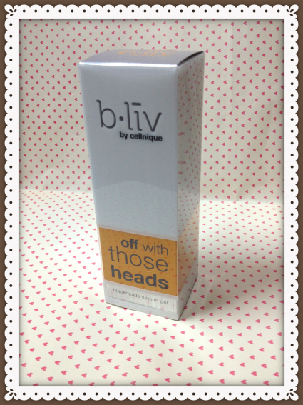 "Review : b.liv ""Off With Those Heads"" blackheads sebum gel by Jessica Alicia"