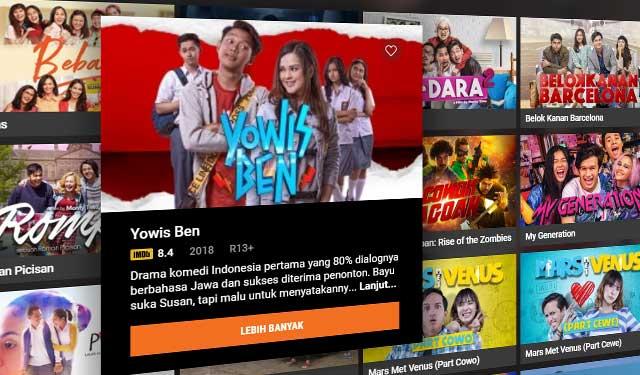 7 Situs Nonton Streaming Film Indonesia Terbaru 2020