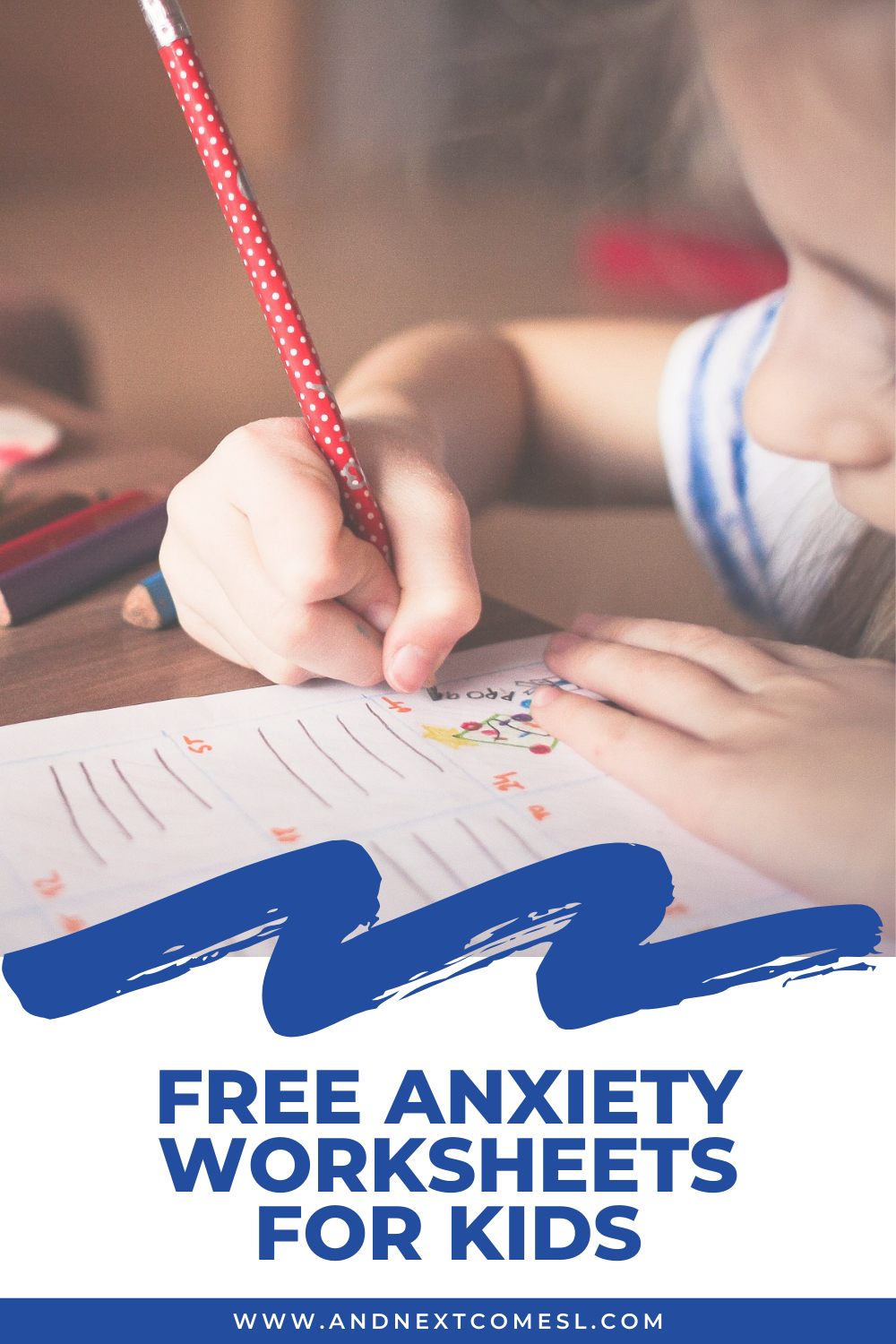 Free printable worry worksheets and anxiety worksheets for kids