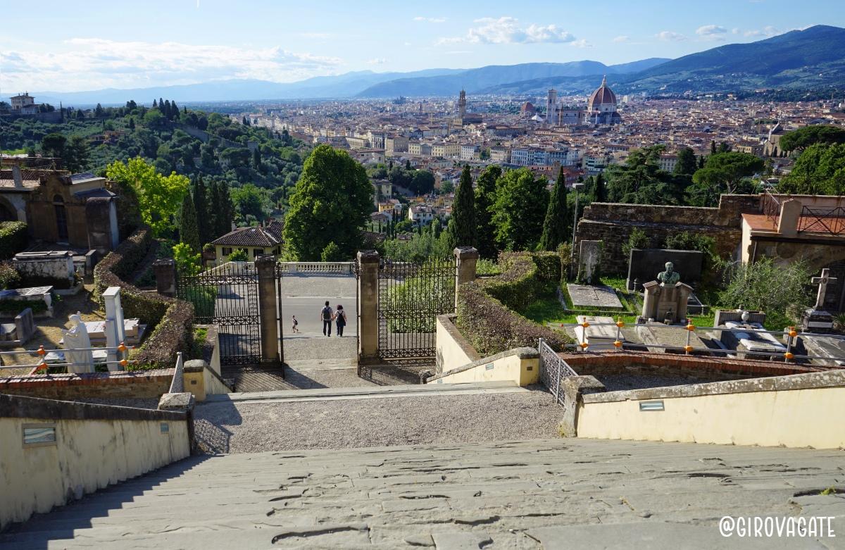 Panorama Basilica San Miniato a Monte