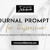 Journal Prompt for Depression: Prompt 4