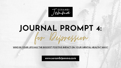 Journal Prompt for Depression: Prompt 4