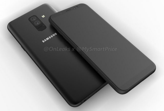 SAMSUNG GALAXY A6 AND A6+RENDERS REVEAL FULL-SCREEN DESIGN