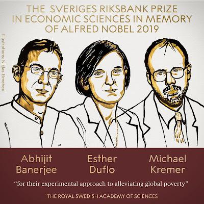 Nobel Economic Sciences Prize / Νόμπελ Οικονομίας 2019 #NobelPrize #Nobel2019 #Nobel